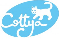 Коття. Ватные палочки. Логотип.