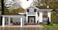 Проект дома Юры фасад