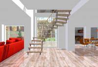 Интерьер лестница
