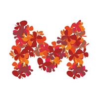 Миллион подарков (первоначальная версия логотипа с бабочками)