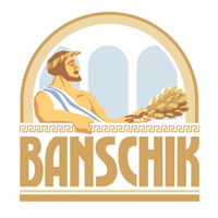 Банщик. Товары для бани. Логотип.