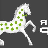 ЯБЛОЧНЫЙ ФРАНТ. Чехлы для «Эппл». Название, лого и вывеска.