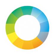 Онлайнтурс. Турфирма. Первоначальный вариант логотипа.