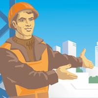 Иллюстрация для сайта строительной компании