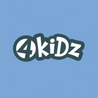 4 Kidz, лого для детских товаров.