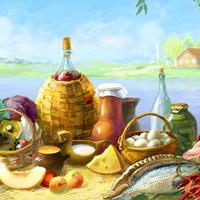 «Карпов Дворъ», продукты из села - логотип, фс и сайт-магазин