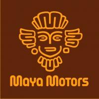 Maya Motors. Автомобильный салон, Екатеринбург. Логотип.