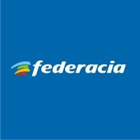 Federacia. Спортивная организация, г. Москва. Логотип, шрифт.