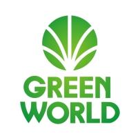 GREENWORLD. Экологически чистый продукт из сибирского кедра. Логотип.