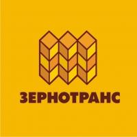 Зернотранс. Транспортировка зерна и с/х продукции. Логотип.