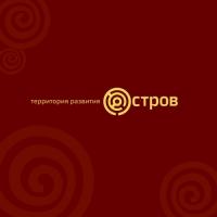 Остров. Общественный молодежный проект, г. Москва. Лого и фс.
