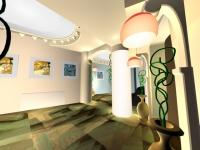 Развлекательный комплекс «Арс», вход в ресторан, 2003.