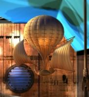 Фантастический шар для украшения интерьера
