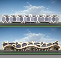 Варианты дизайна торгового комплекса, 2006