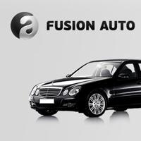 «Fusion Auto», автоэскорт премиум-класса, логотип и сайт компании