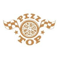 Пицц-топ. Служба доставки пиццы. г. Сочи. Логотип.   Финалист Золотая блоха 2017