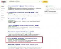 консалтинг в турции — Яндекс нашлось 2млнрезультатов
