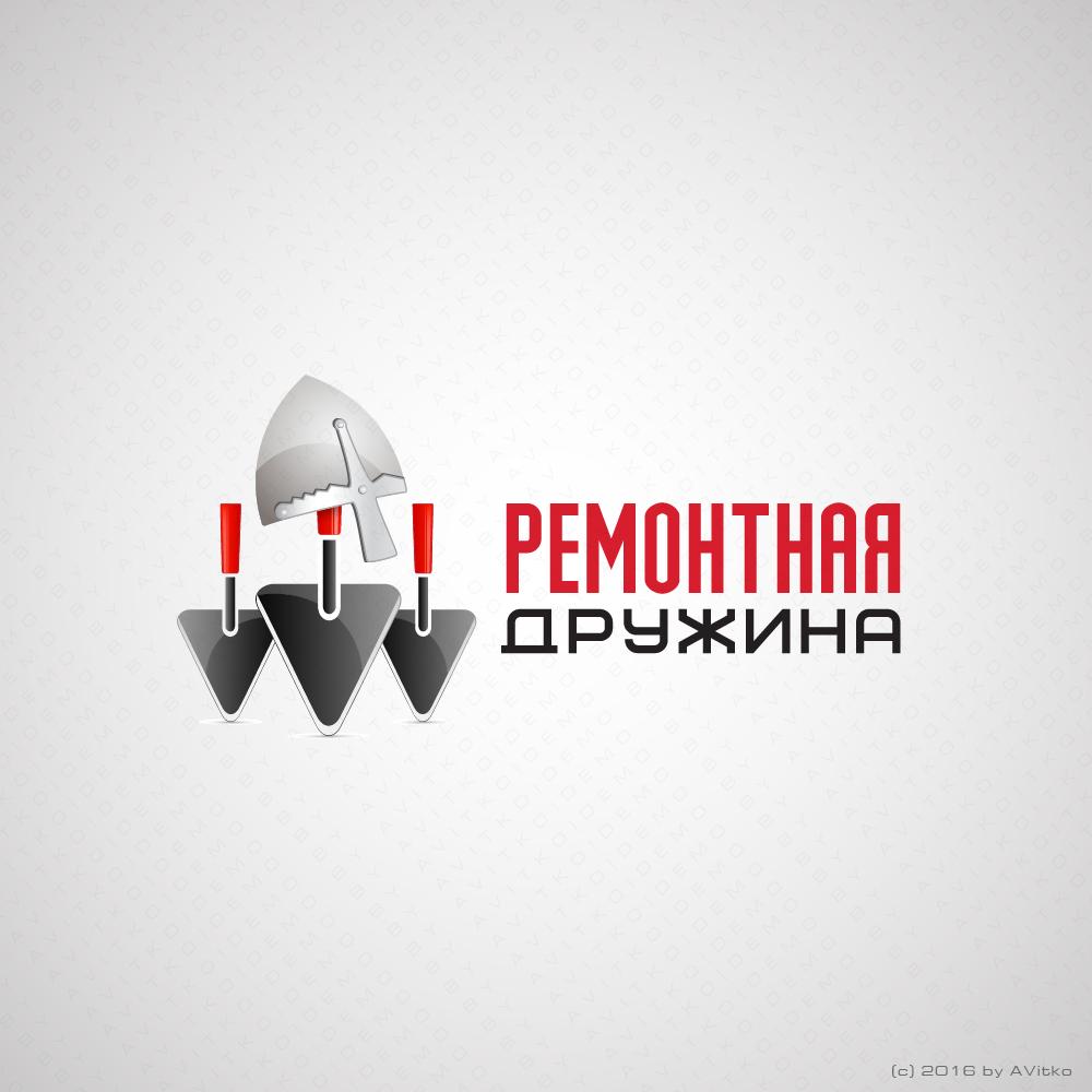 Логотип ремонтной бригады Москва