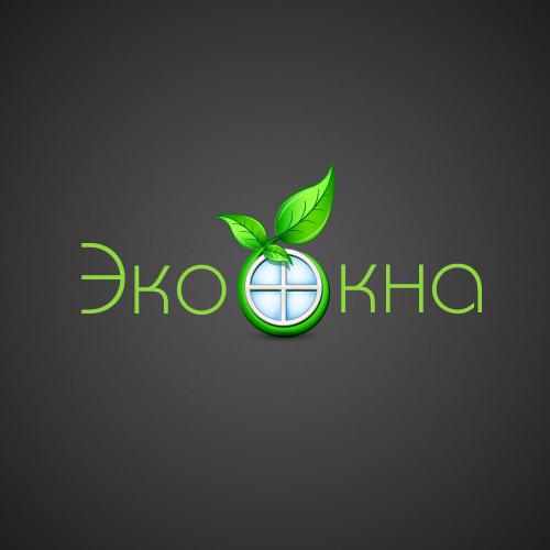 """Логотип компании """"ЭкоОкна"""""""