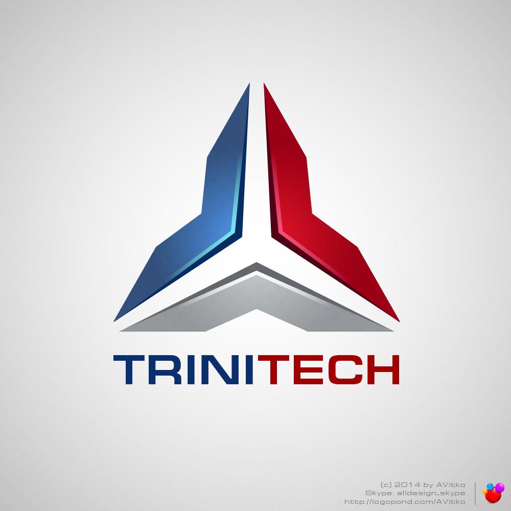 Дизайн логотипа TriniTech (Москва)