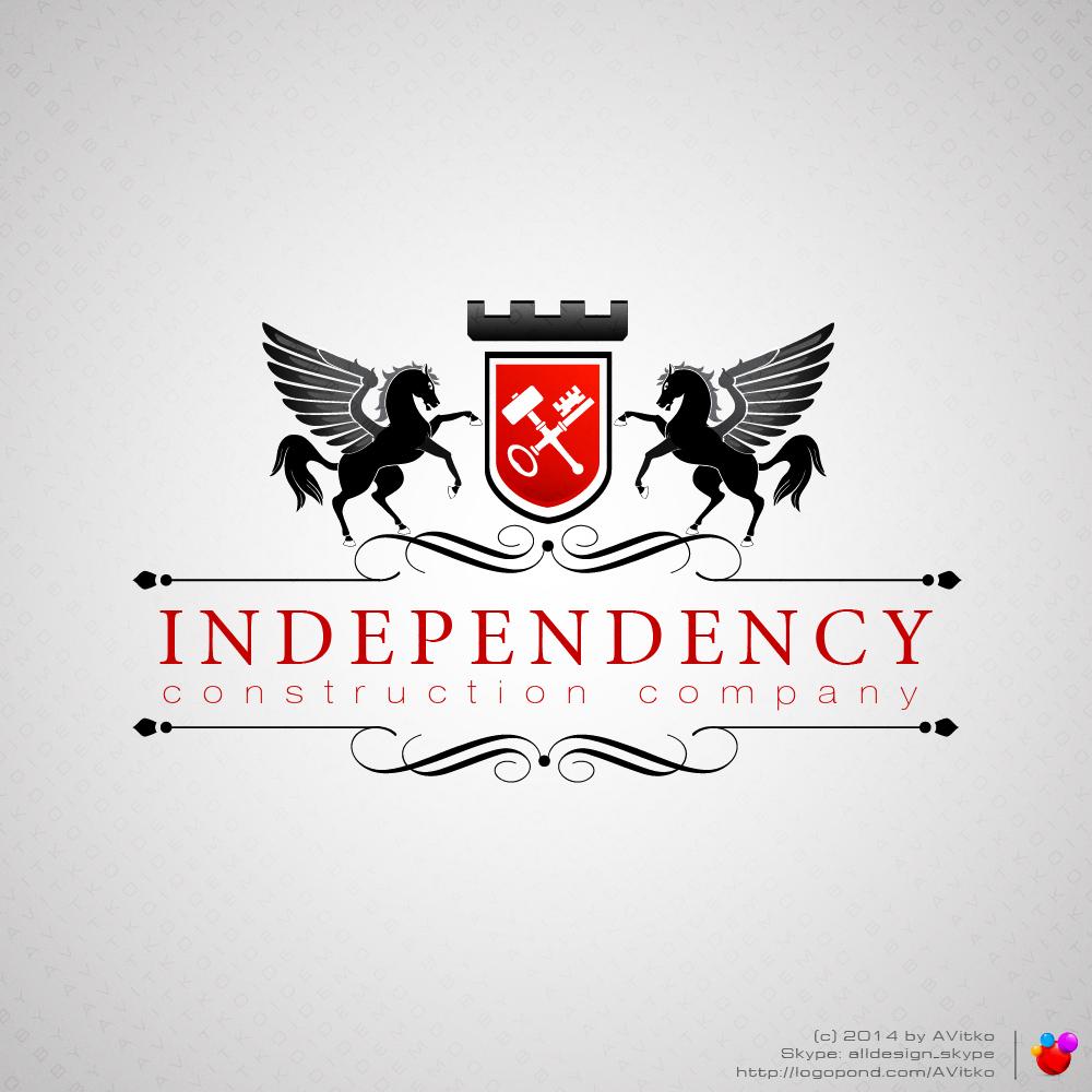 Логотип строительной компании Независимость