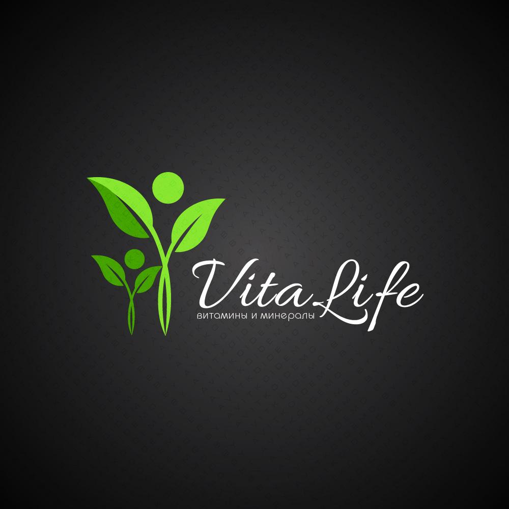Логотип VitaLife (витамины)