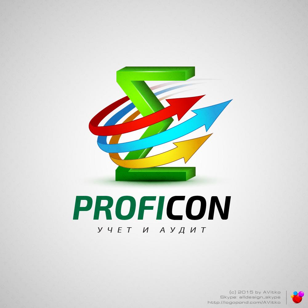 Лого бухгалтерской компании Proficon