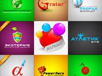 Красивый бюджетный логотип, цена 6000р