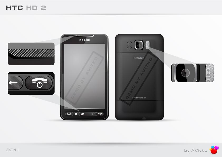 Смартфон HTC HD2 (версия для стоков)