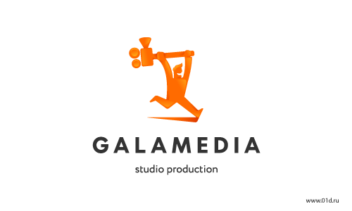 Galamedia Логотип продакшн студии