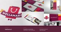 Wellamart: нейминг, логотип, стиль