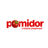 Логотип дизайн-студии Pomidor