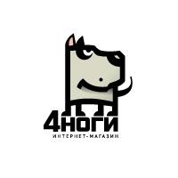 Логотип интернет-магазина 4ноги.ru
