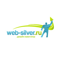 2008 г. Логотип интернет-портала Web-silver.ru