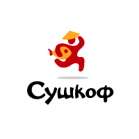 Сушкоф. Разработка логотипа.