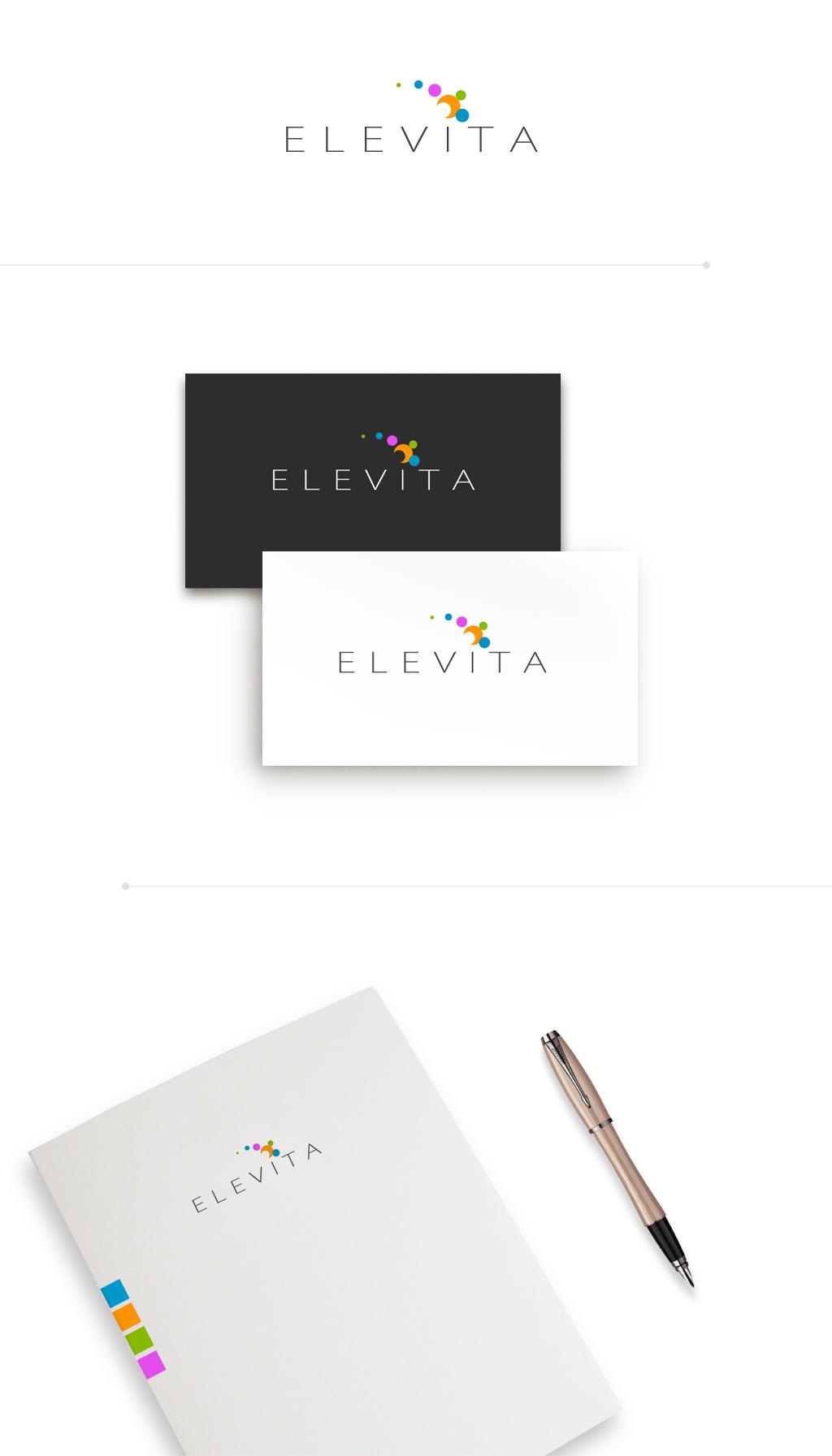 Логотип для интернет-магазина косметики и парфюмерии Elevita