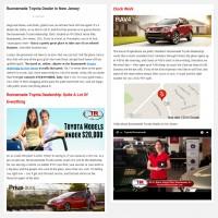 "Постинг статьи ""Runnemede Toyota Dealer in New Jersey"""
