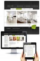 Дизайн сайта по продаже мебели Ideal House