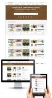 Дизайн сайта-сервиса по продаже шаблонов