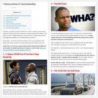 """Постинг статьи """"7 Hilarious Stories At Toyota Dealerships"""""""