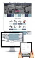 Дизайн главной страницы сайта-каталога ПВК