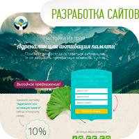 Разработка лендингов, сайтов, интернет-магазинов, порталов