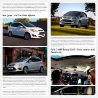 "Постинг статьи ""Ford C-MAX Energi 2015"""