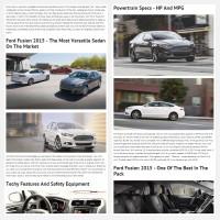 """Постинг статьи """"Ford Fusion 2015"""""""