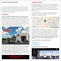 "Постинг статьи ""Treasure Coast Toyota (Florida)"""