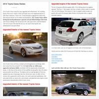 "Постинг статьи ""2016 Toyota Venza: Review"""