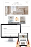 Адаптивный интернет-магазин светильников для бренда Pacific Mezo