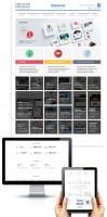 Дизайн контентной части для раздела Веб-студии на сайте Фиолент