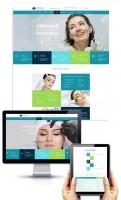 Дизайн Главной страницы и страницы Услуги Центра Метелица