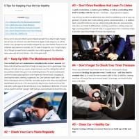 "Постинг статьи ""5 Tips For Keeping Your Old Car Healthy"""